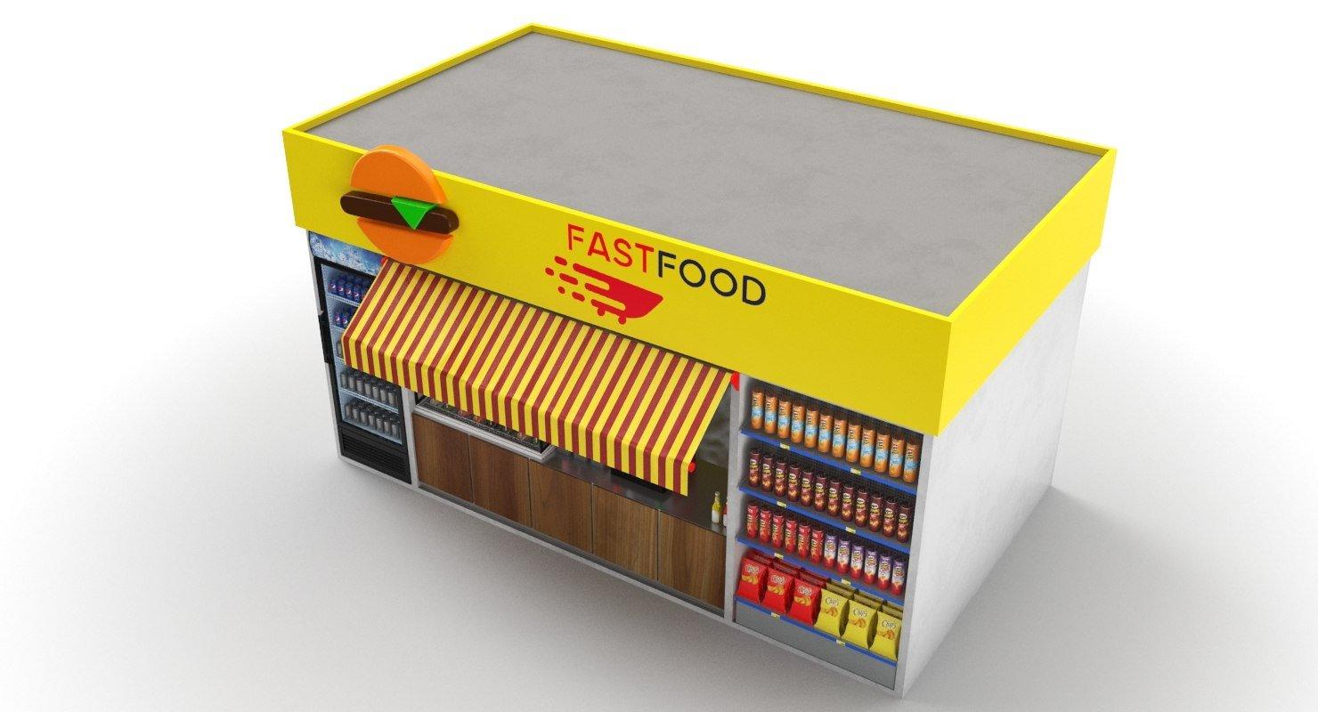 food kiosk ideas