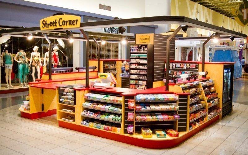 Retail convenience store kiosk