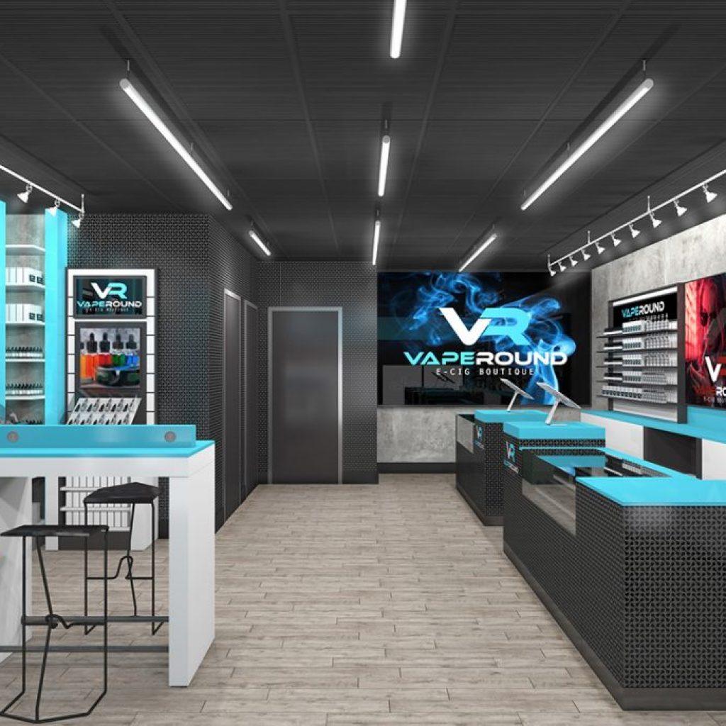 Top 8 best vape cafe store interior design E-cigarette ...