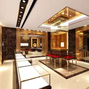 diamond retail store design