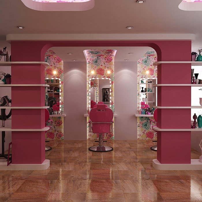 hair salon shop design