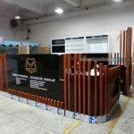 4X3 eyebrow threading kiosk export to New Zealand