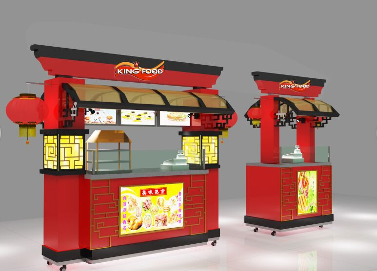 chinese style food carts