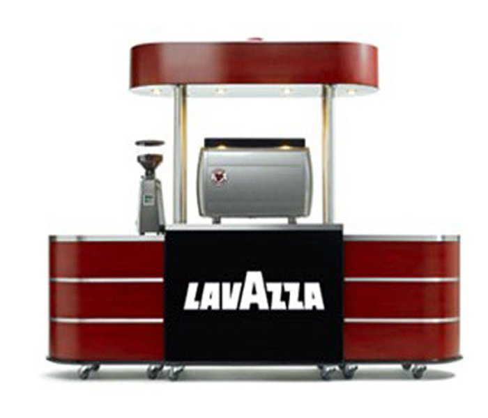 LAVAZZA coffee carts