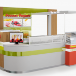 frozen yogurt kiosk: Top 3 popular frozen yogurt kiosk design ideas