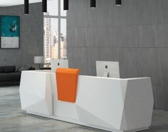 Fashion design office & salon Reception counter desk for sale