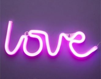 Custom Neon LED sign logo with pink signage letters for sale