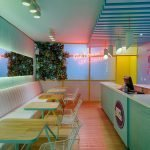 Some ideas can help you design your ice cream shop very attractive