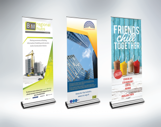 Cheap Retractable pop-up Banners for sale