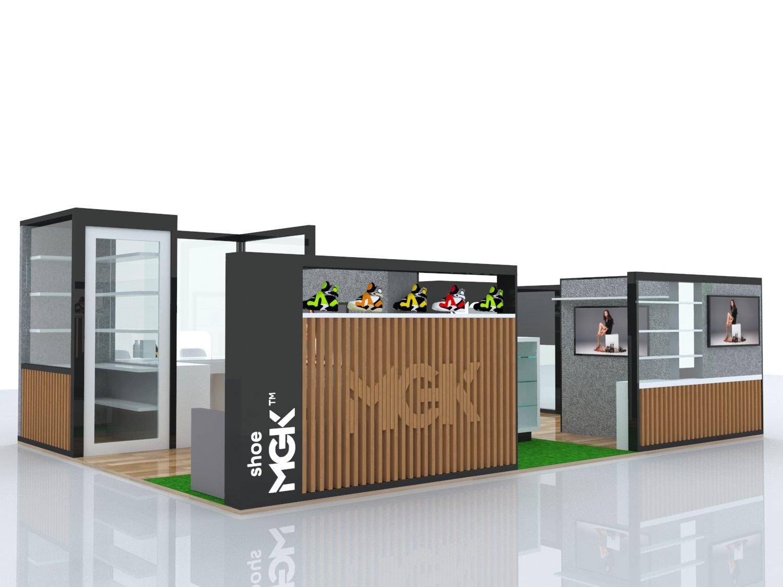 mall retail kiosk