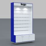Phone accessories kiosk design styles
