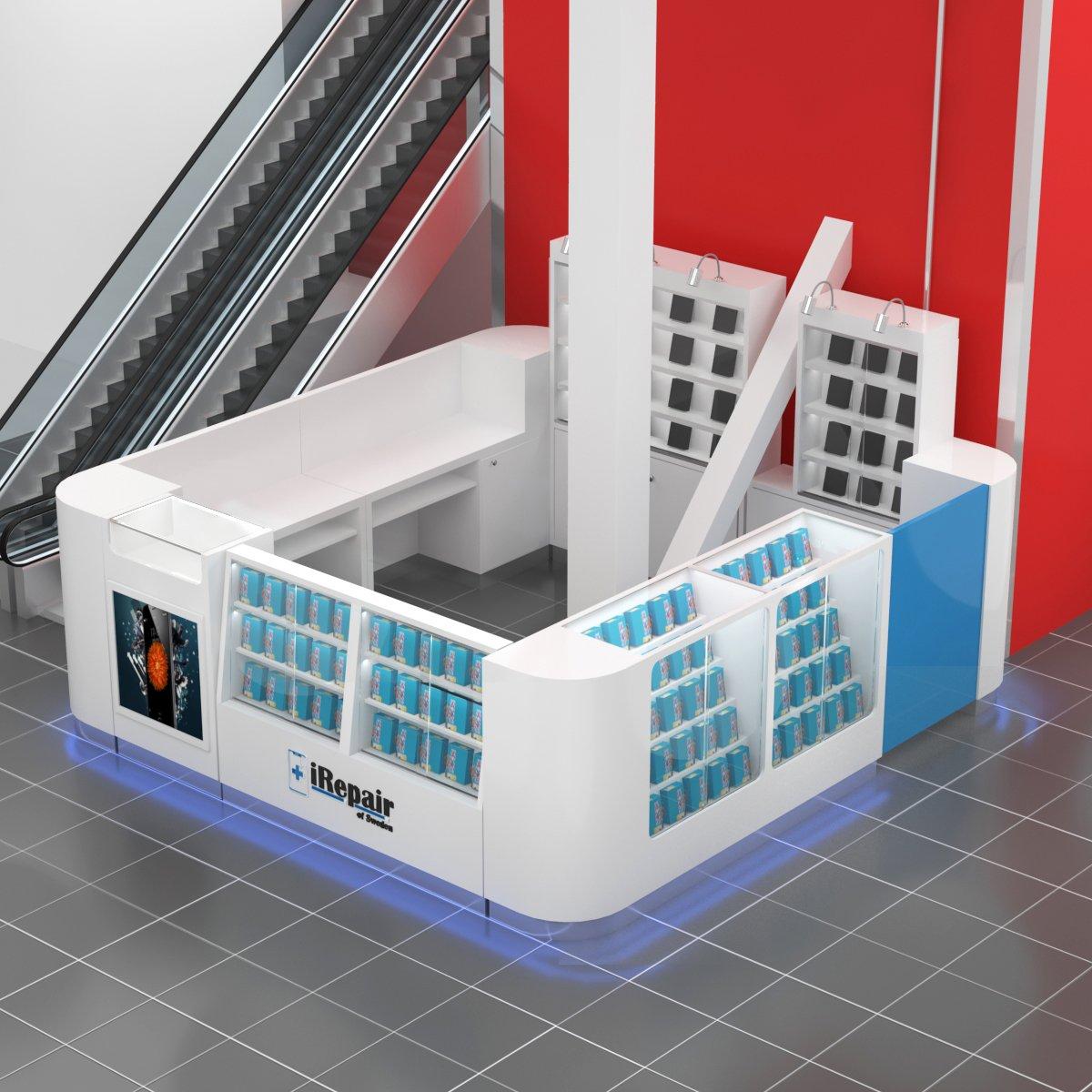 Cellphone kiosk
