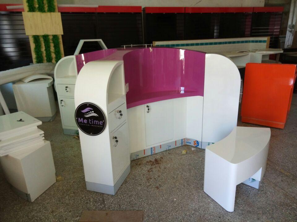 massage kiosk production picture