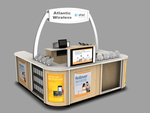 atlantic wireless kiosk