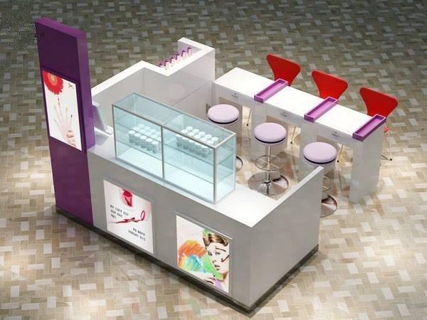 nail bar kiosk