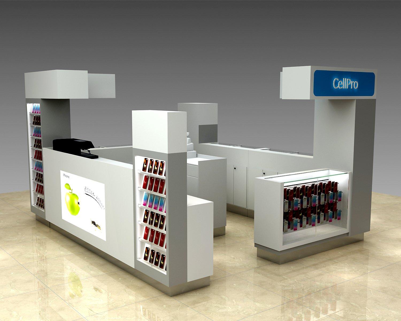 cell phone accessory kiosk