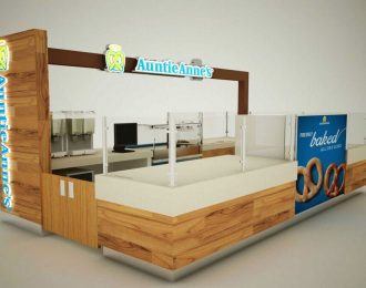 Shopping Mall Bakery Kiosk design