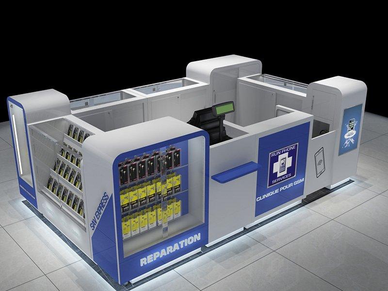 phone case kiosk