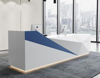 Bespoke Technology Sense line Office recepetionist desk, guest table