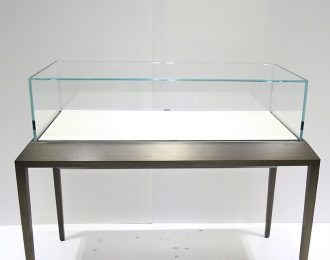 Frameless Glass Top Jewerly display counter showcase