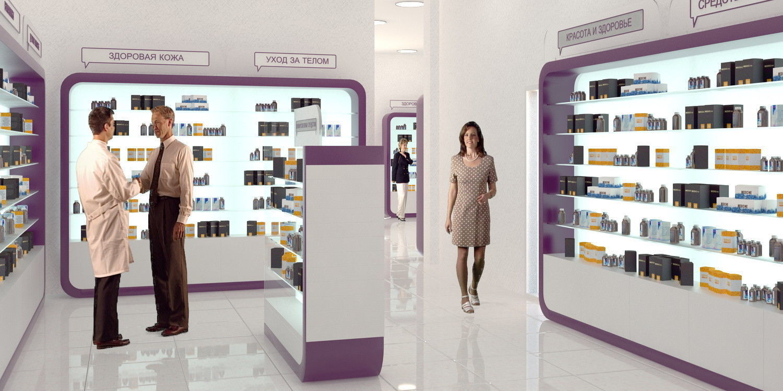 pharmacy store fixtures