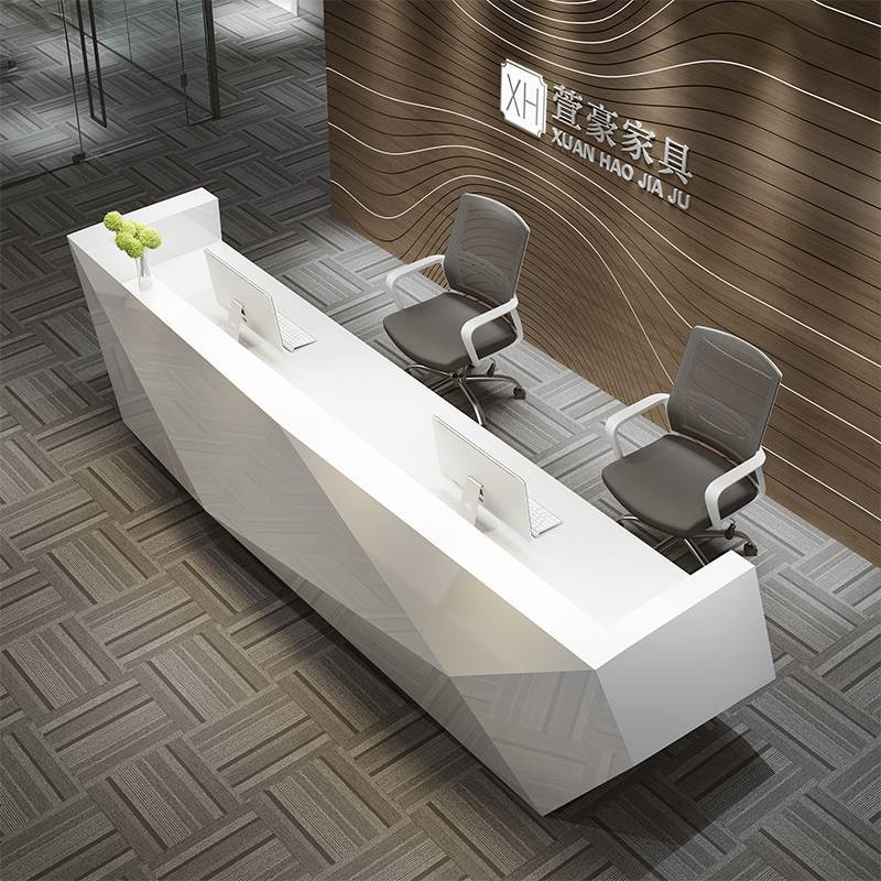 office reception counter design