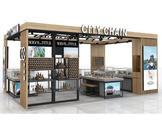 Airport Mall watch kiosk design