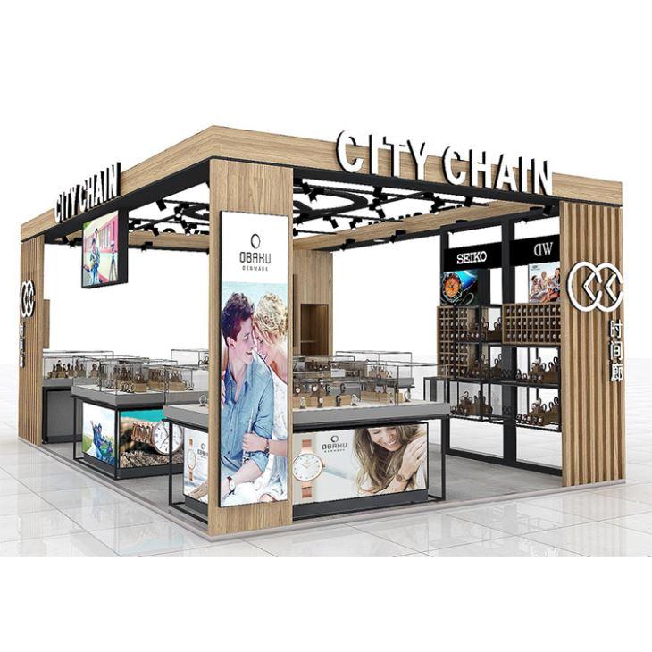 watch stall design