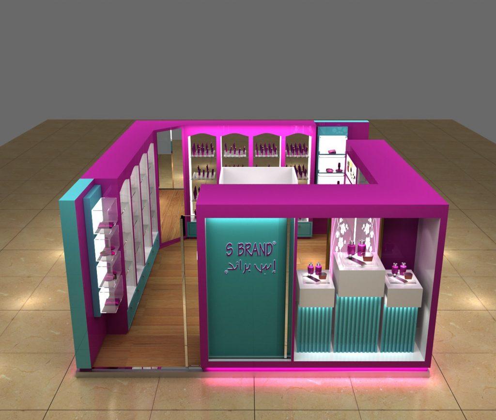 perfume store kiosk