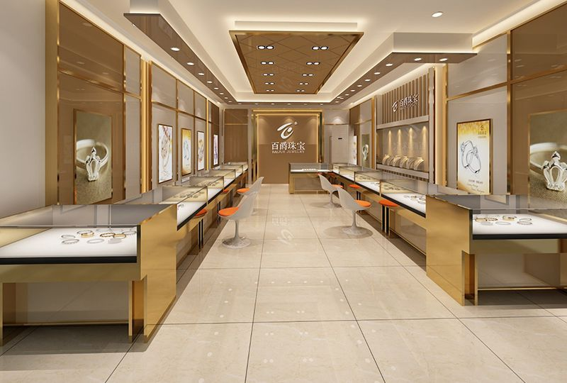 Jewelry Display Store Design Retail Display Cases Cabinets Counters