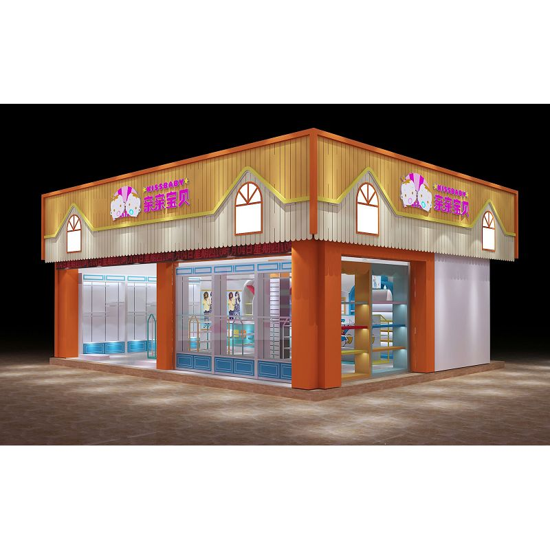 baby clothes store kiosk