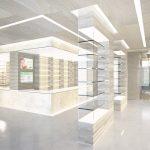 pharmacy display counter