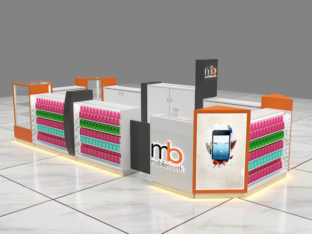 phone cover kiosk