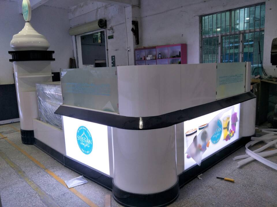 coffee kiosk production