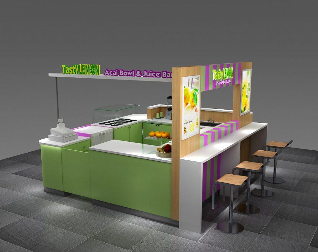 lemon juice kiosk