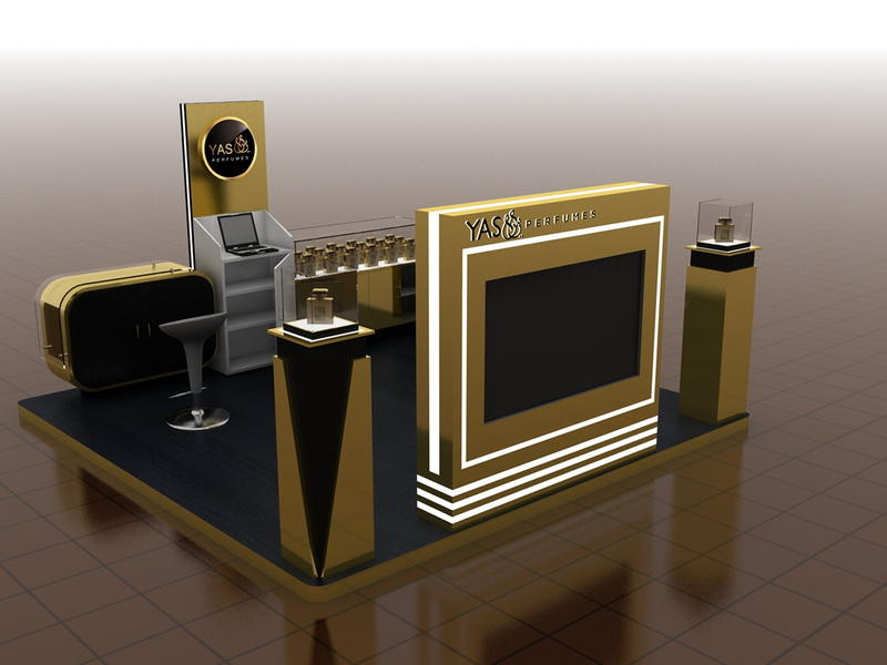 perfume counter
