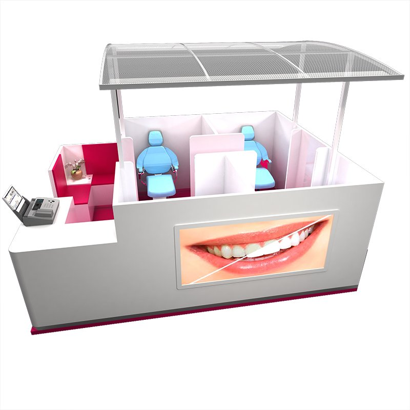 teeth whitening stand