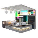 cake/bread kiosk