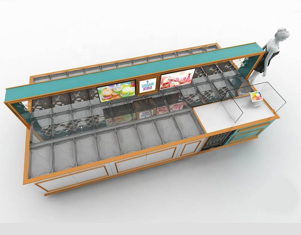 candy showcase