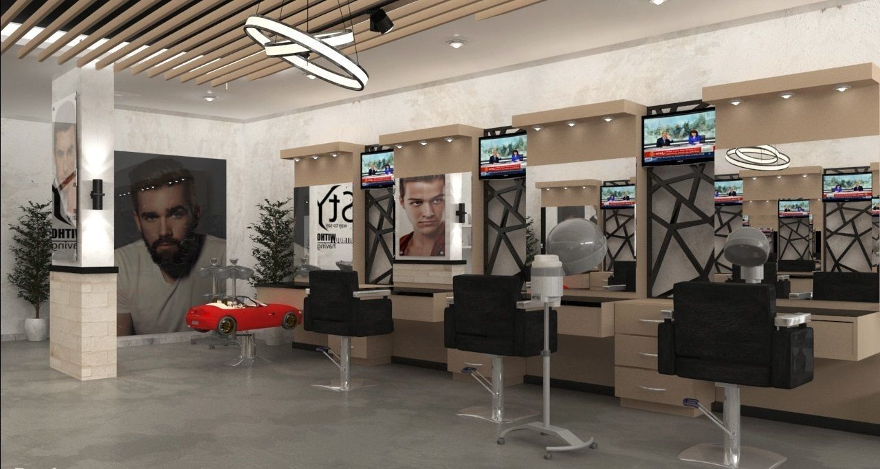 share some nice hair salon shop design ideas with you