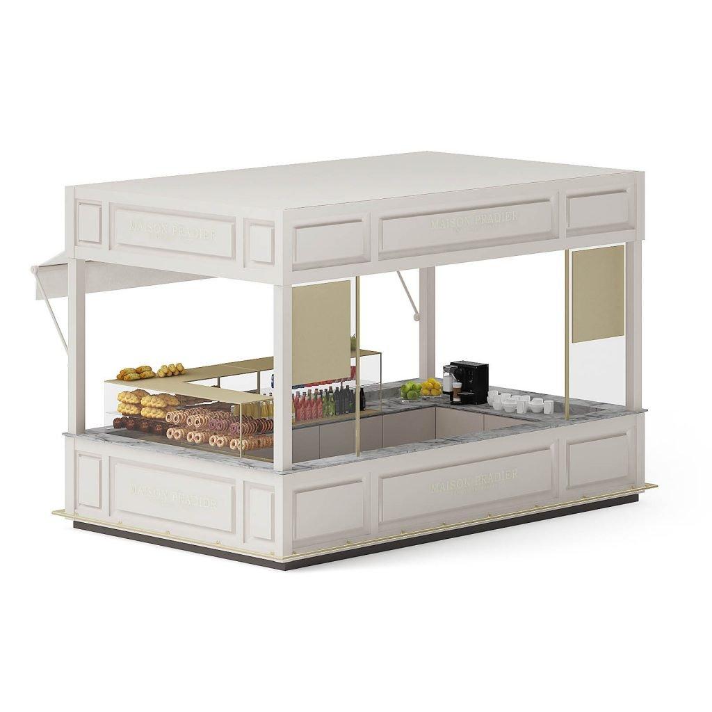 Macarons booth