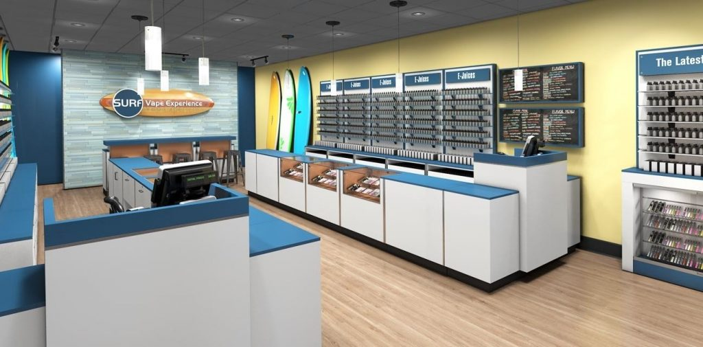 e-cigarette shop design