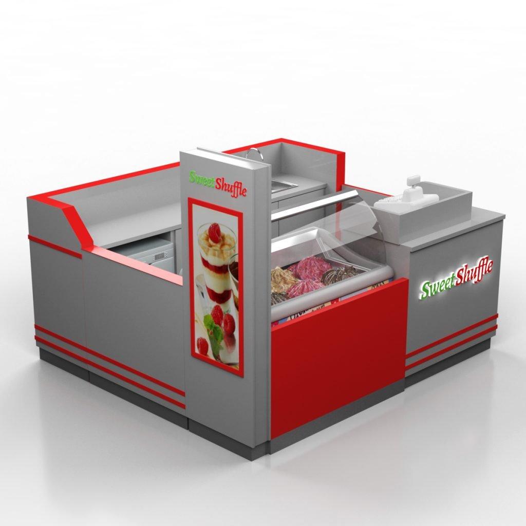 ice cream stall