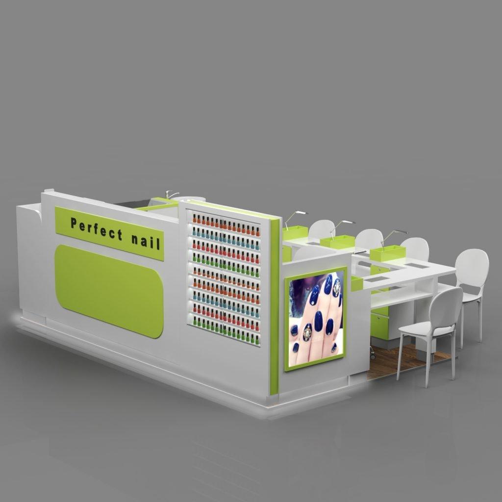 nail polish booth