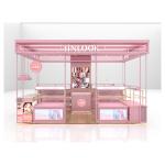 makeup shelves