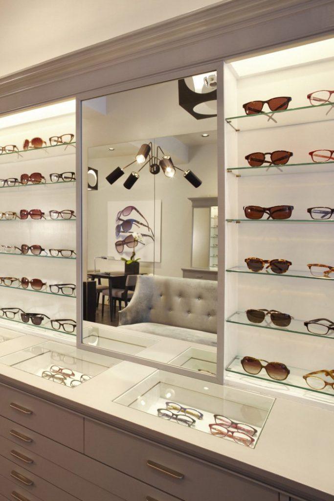 eyeglasses showcase