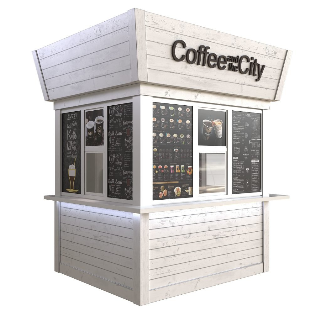 outdoor coffee cabinet