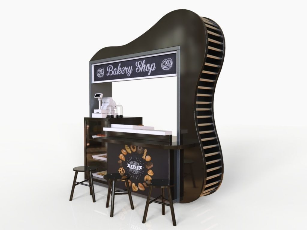 unique drink stand