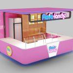 yogurt booth