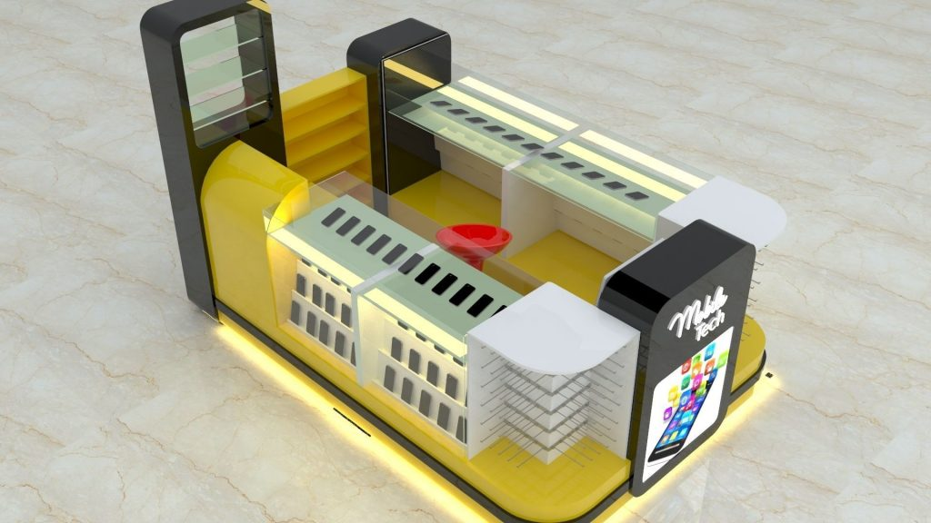 mobile phone booth